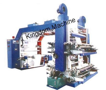 Impresora Flexográfica de Alta Velocidad de Cuatro Colores