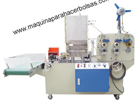 Máquina de Embalaje Cañitas De Plastico KD31 sellado de 3 lados